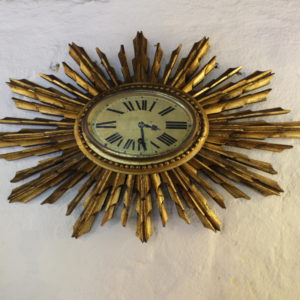 Art Deco Star Burst Clock C.1930