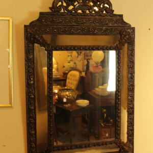 Nineteenth Century Dutch Copper Cushion Mirror
