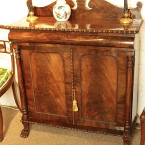 William IV Magogany Chiffonier