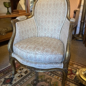 A small French Gilt Chair